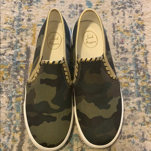 Jack Rogers Shoes | Nwot Camo Sneakers